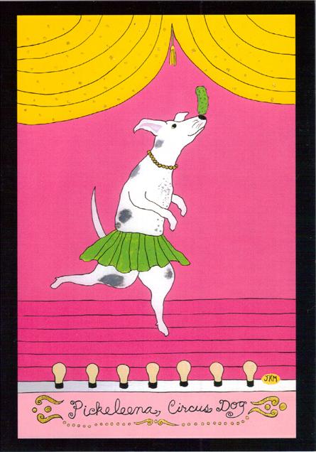 Pickeleena Circus Dog