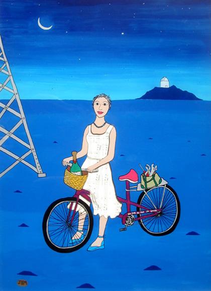 Joan's New Bike